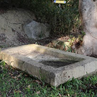 Tombe n.1 d'Oka-no-Tani: couvercle du cercueil en pierre