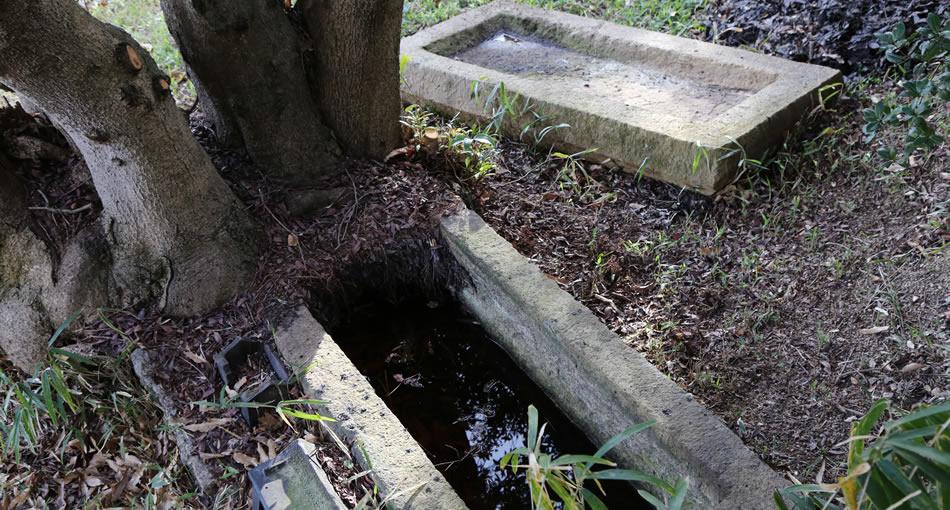 Tombe n.1 d'Oka-no-Tani: cercueil en pierre