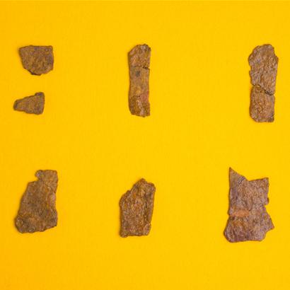 Objets de fouille du site archéologique de Kidohara