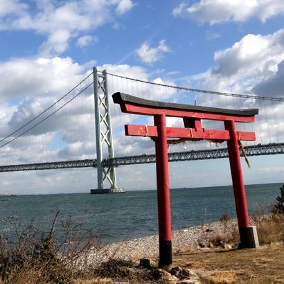 Détroit d'Akashi et baie de Matsuho