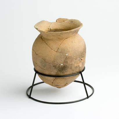 Objets de fouilles du site archéologique de Shimonaizen