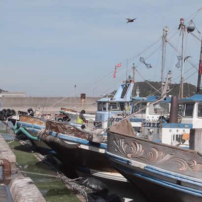 Port de pêche de Yura