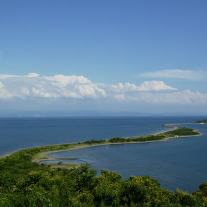 Détroit de Kitan, Yura et île Narugashima