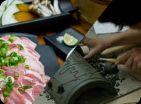 Kawaraya, tuiles de toit faites en argile blanche Yasutomi